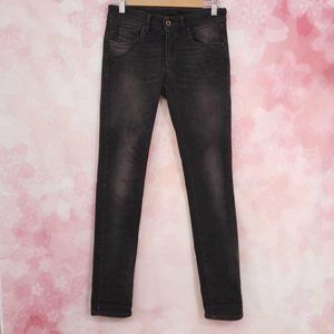 Diesel Black Gold Eris Skinny Distressed Jeans 25